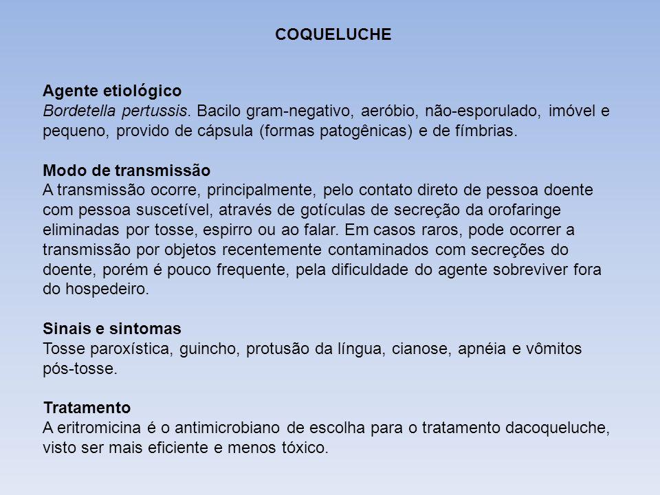 DIFTERIA COQUELUCHE.