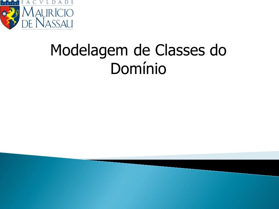 Modelagem de Classes do Domínio