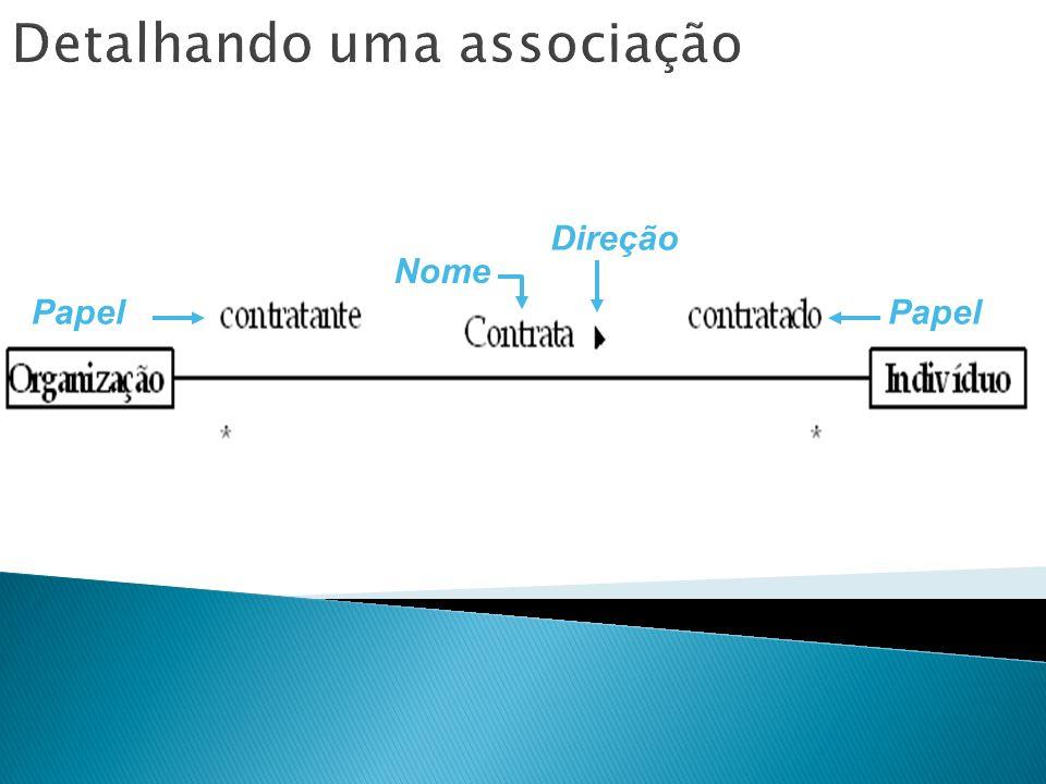 Detalhando uma associação