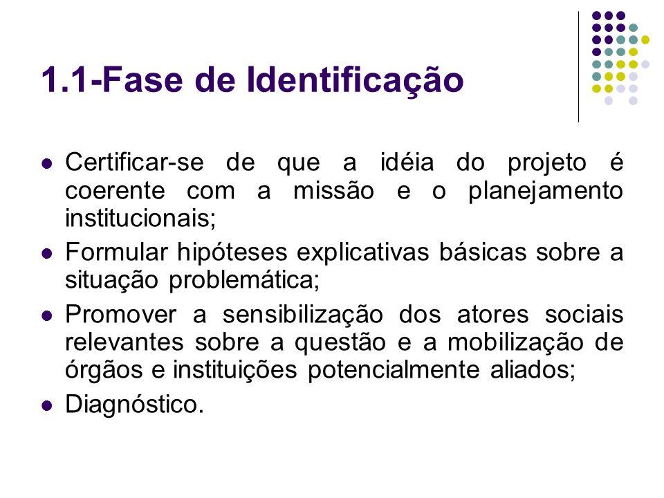 1.1-Fase de Identificação