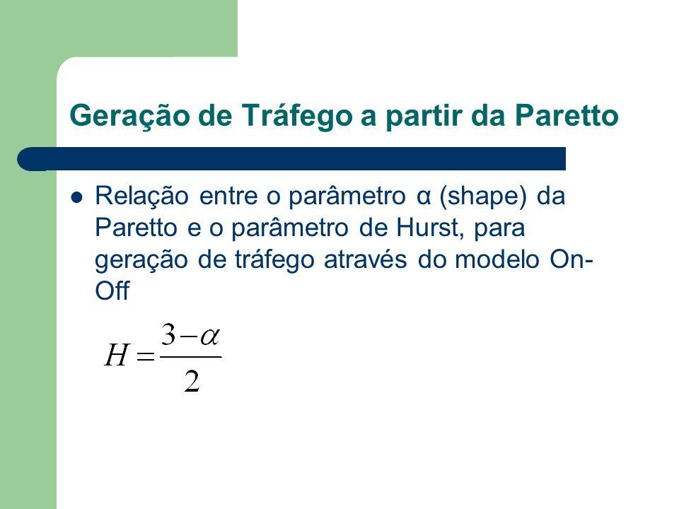 Geração de Tráfego a partir da Paretto