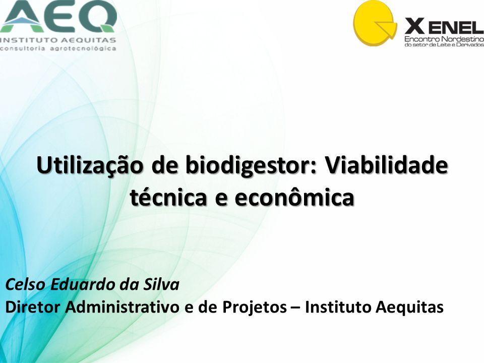 Utilização de biodigestor: Viabilidade técnica e econômica