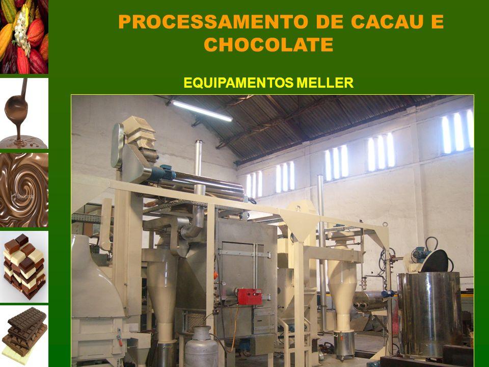 PROCESSAMENTO DE CACAU E CHOCOLATE