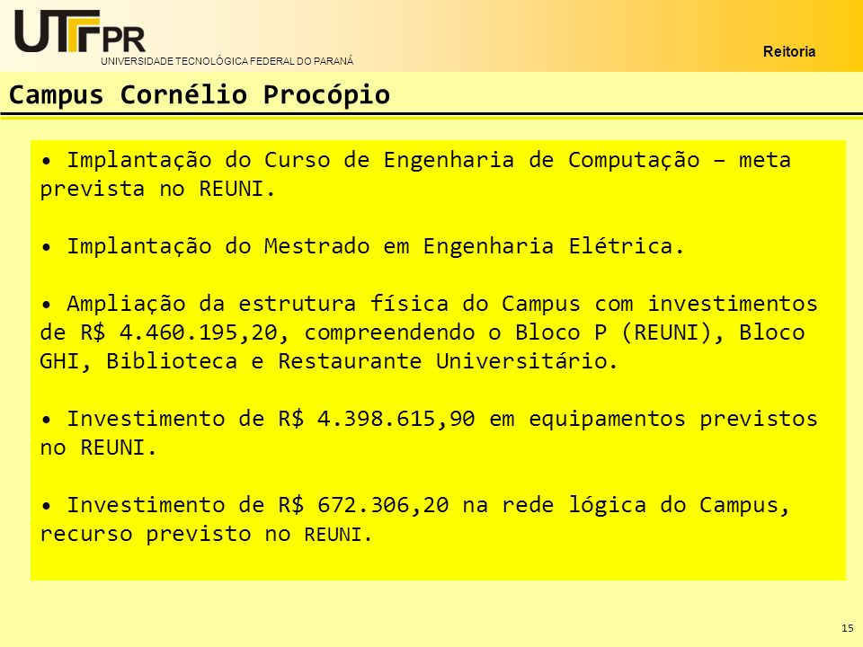 Campus Cornélio Procópio