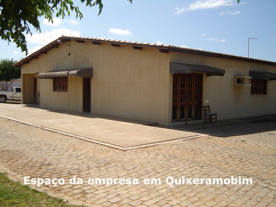 Espaço da empresa em Quixeramobim