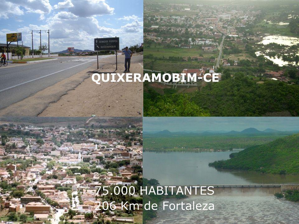 75.000 HABITANTES 206 Km de Fortaleza