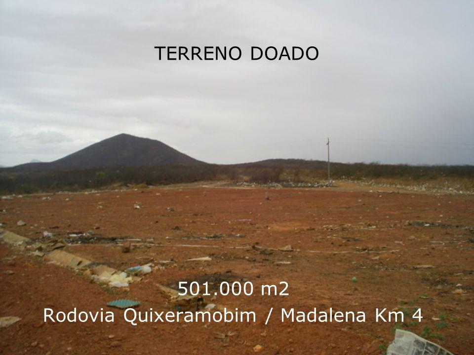 501.000 m2 Rodovia Quixeramobim / Madalena Km 4