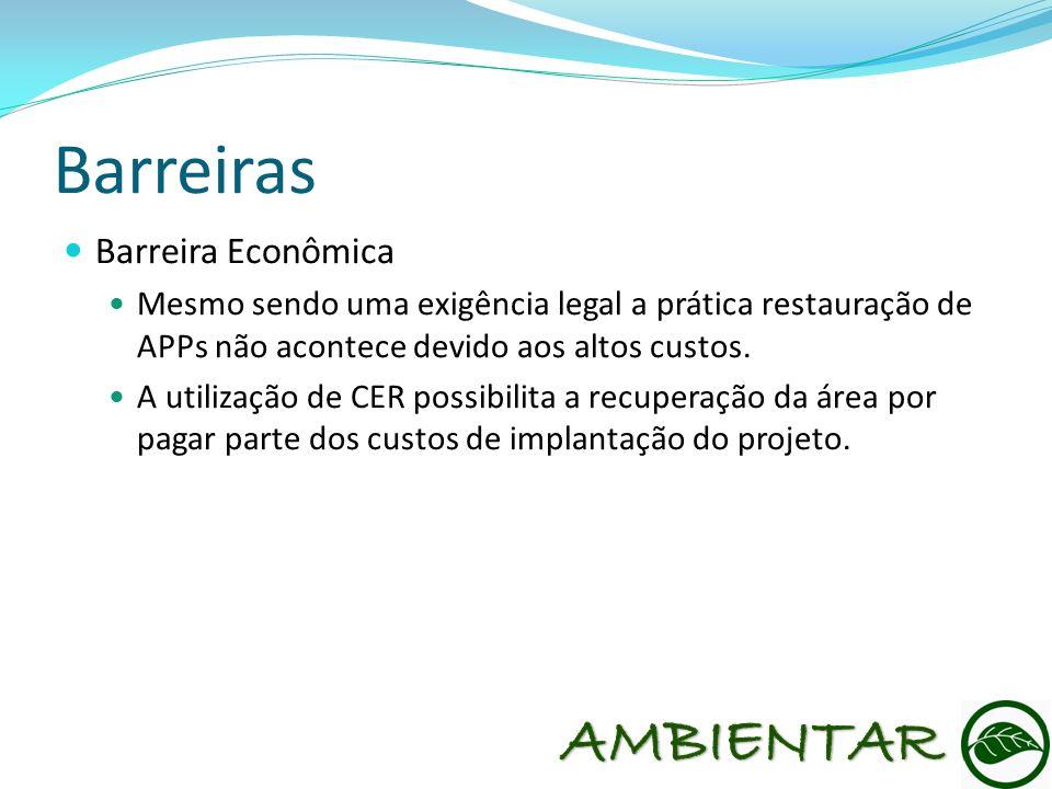 Barreiras AMBIENTAR Barreira Econômica