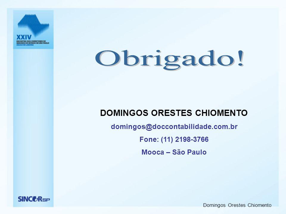 DOMINGOS ORESTES CHIOMENTO