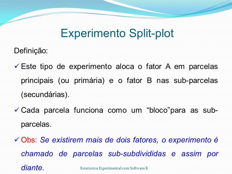 Experimento Split-plot