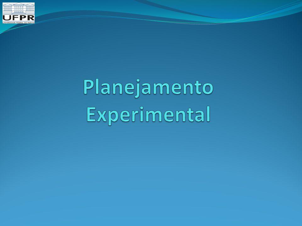 Planejamento Experimental