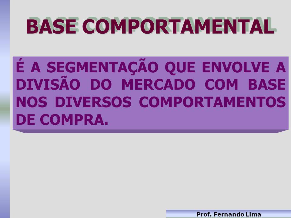 BASE COMPORTAMENTAL É A SEGMENTAÇÃO QUE ENVOLVE A DIVISÃO DO MERCADO COM BASE NOS DIVERSOS COMPORTAMENTOS DE COMPRA.