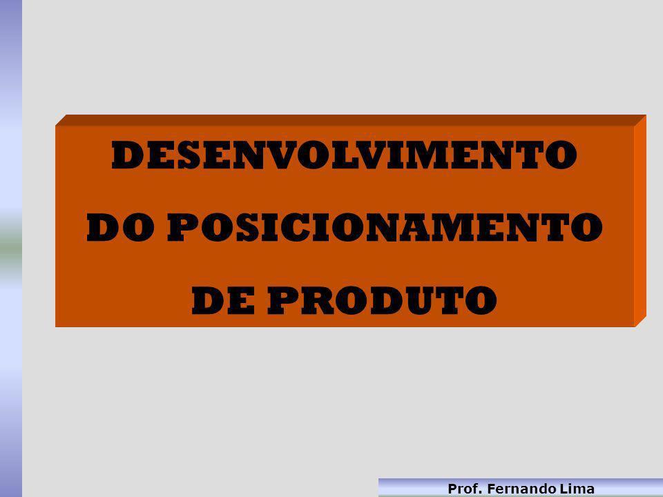 DESENVOLVIMENTO DO POSICIONAMENTO DE PRODUTO