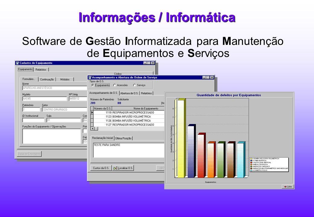Informações / Informática