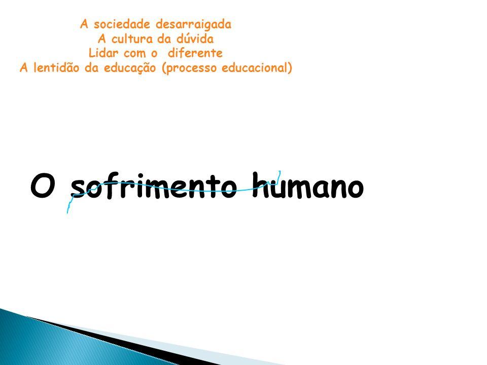 A lentidão da educação (processo educacional)