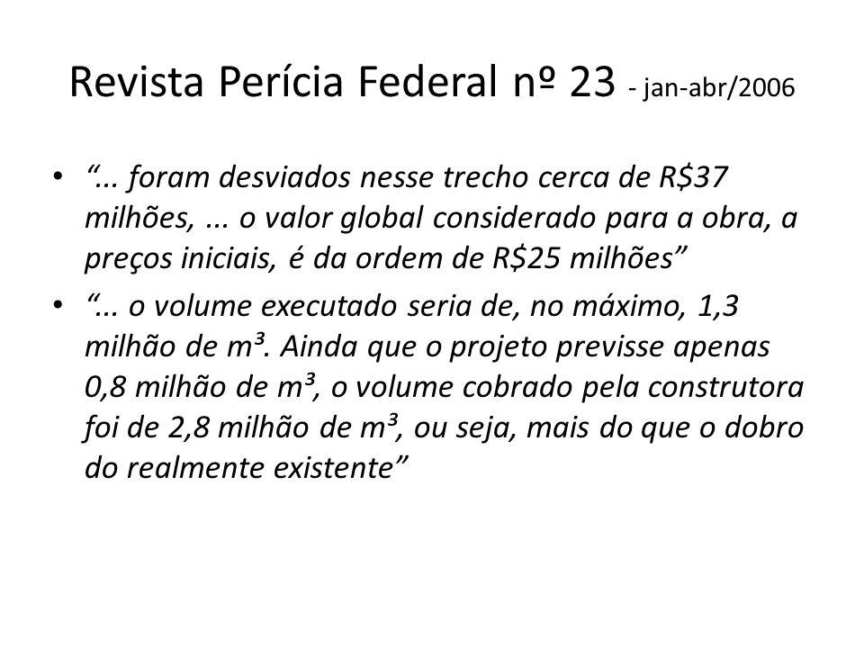 Revista Perícia Federal nº 23 - jan-abr/2006