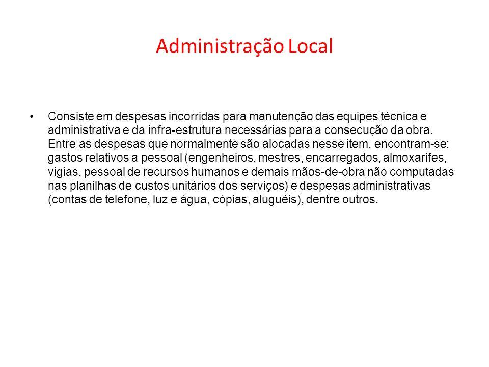 Administração Local