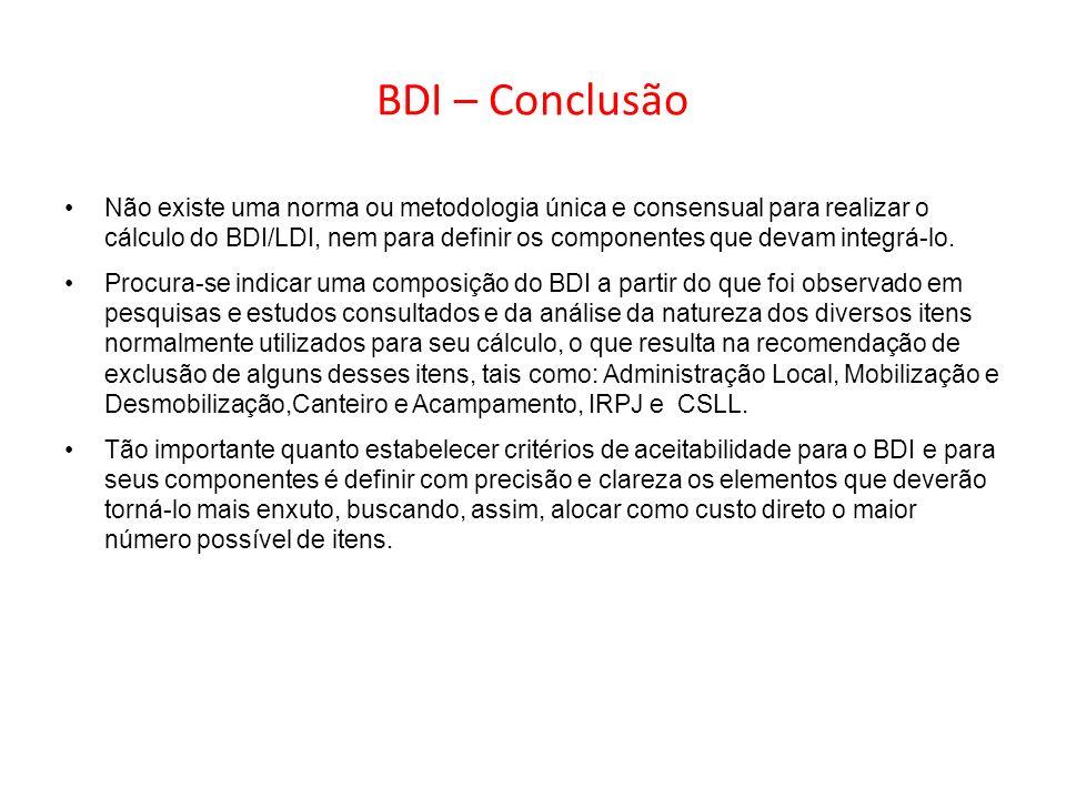 BDI – Conclusão