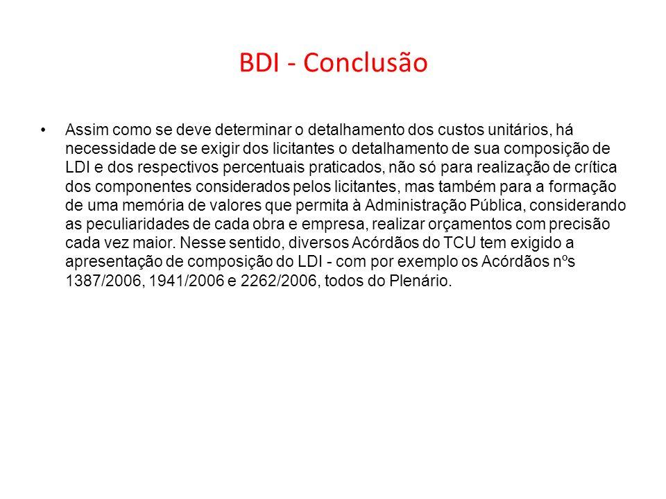 BDI - Conclusão
