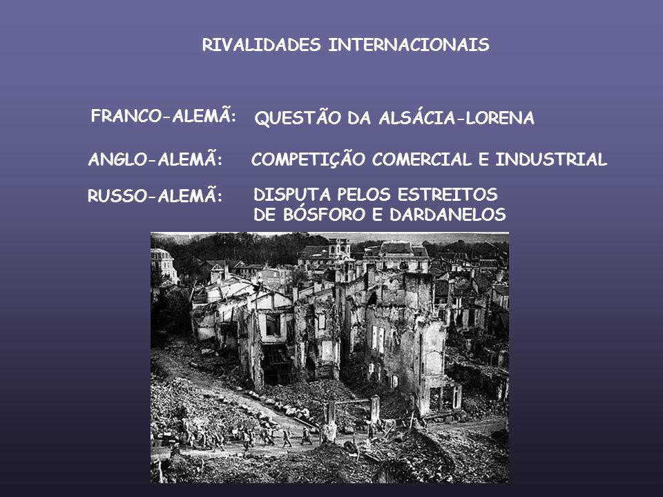 RIVALIDADES INTERNACIONAIS