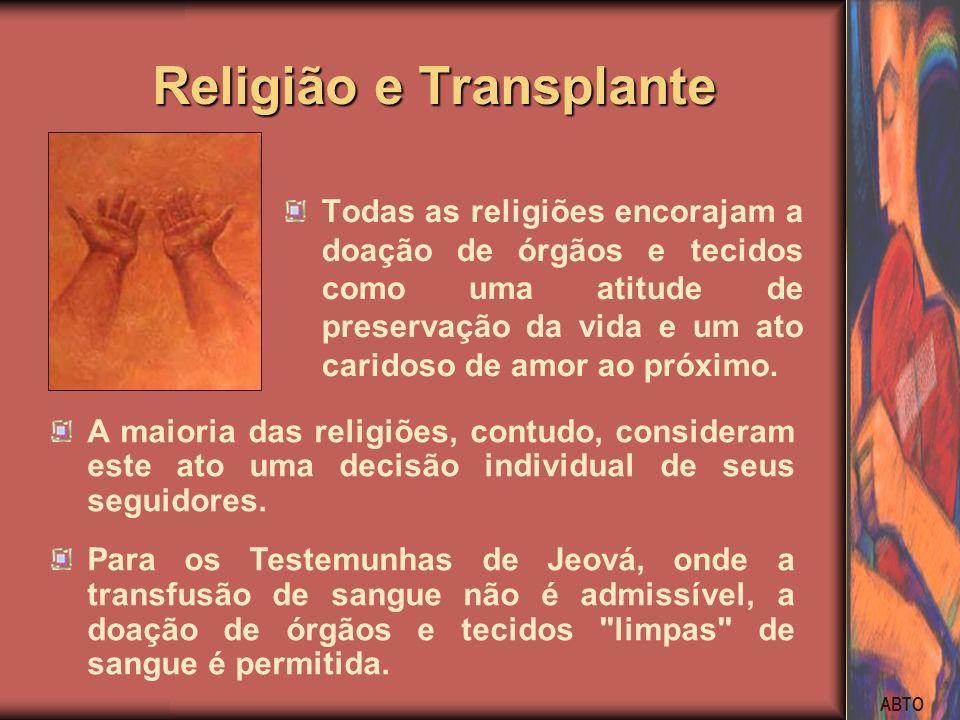 Religião e Transplante