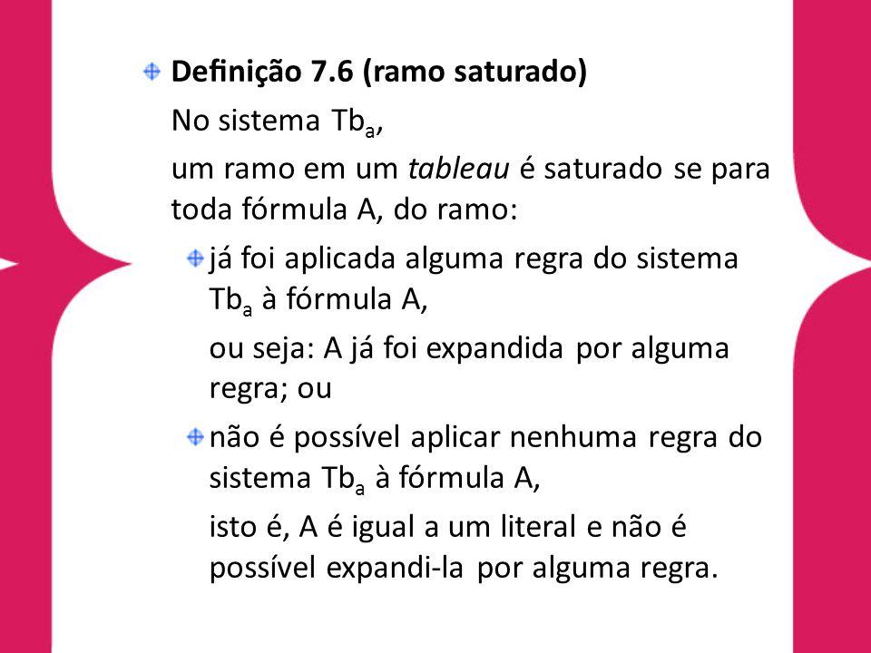 Definição 7.6 (ramo saturado)