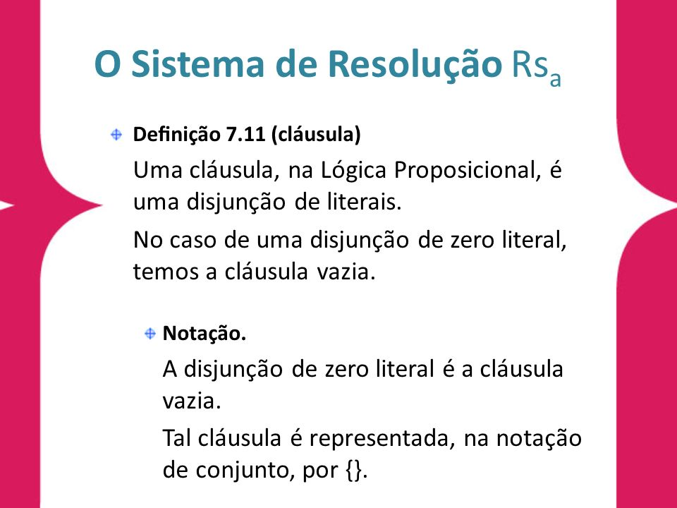 O Sistema de Resolução Rsa