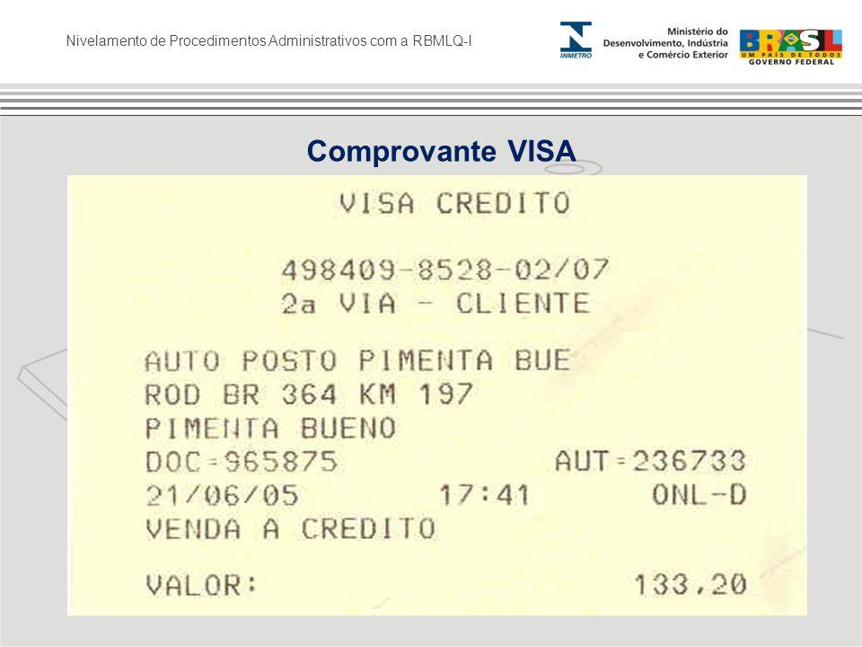 Comprovante VISA