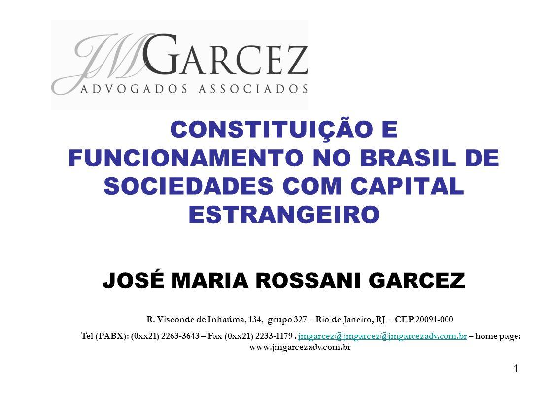 JOSÉ MARIA ROSSANI GARCEZ