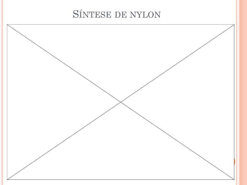 Síntese de nylon