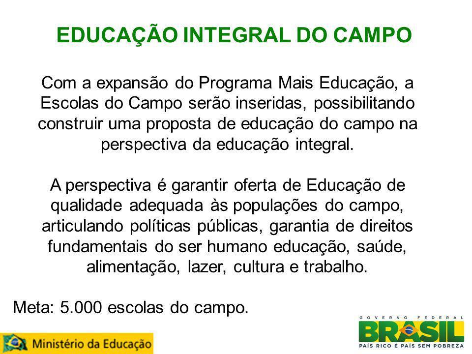 EDUCAÇÃO INTEGRAL DO CAMPO