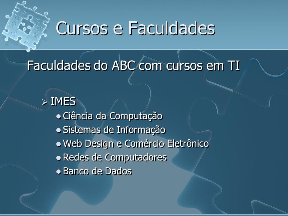 Cursos e Faculdades Faculdades do ABC com cursos em TI IMES