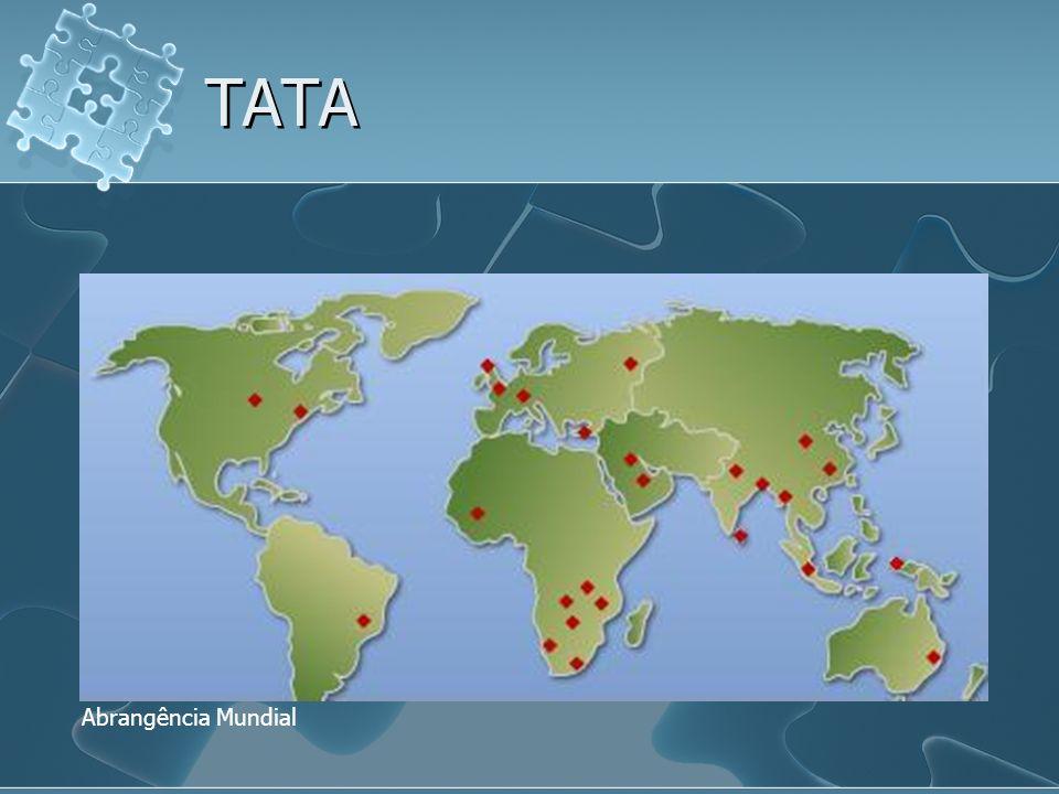 TATA Abrangência Mundial
