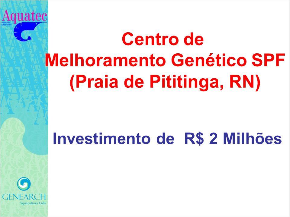 Centro de Melhoramento Genético SPF (Praia de Pititinga, RN)