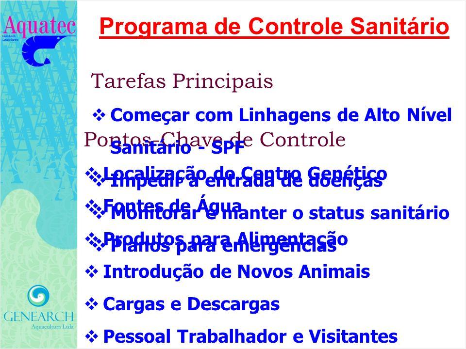 Programa de Controle Sanitário