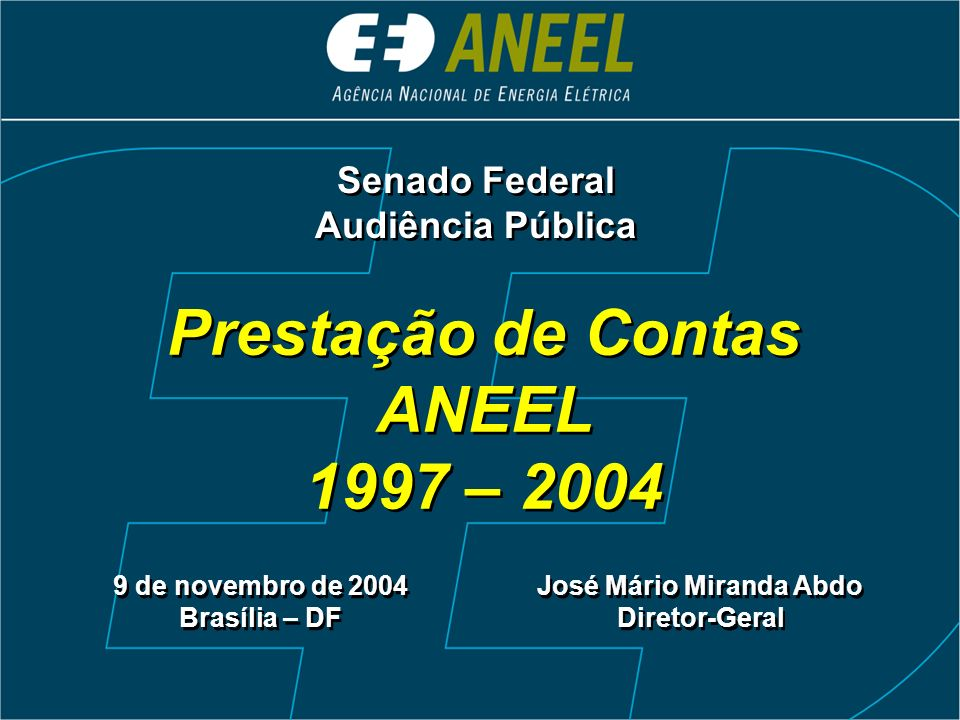 Prestação de Contas ANEEL José Mário Miranda Abdo