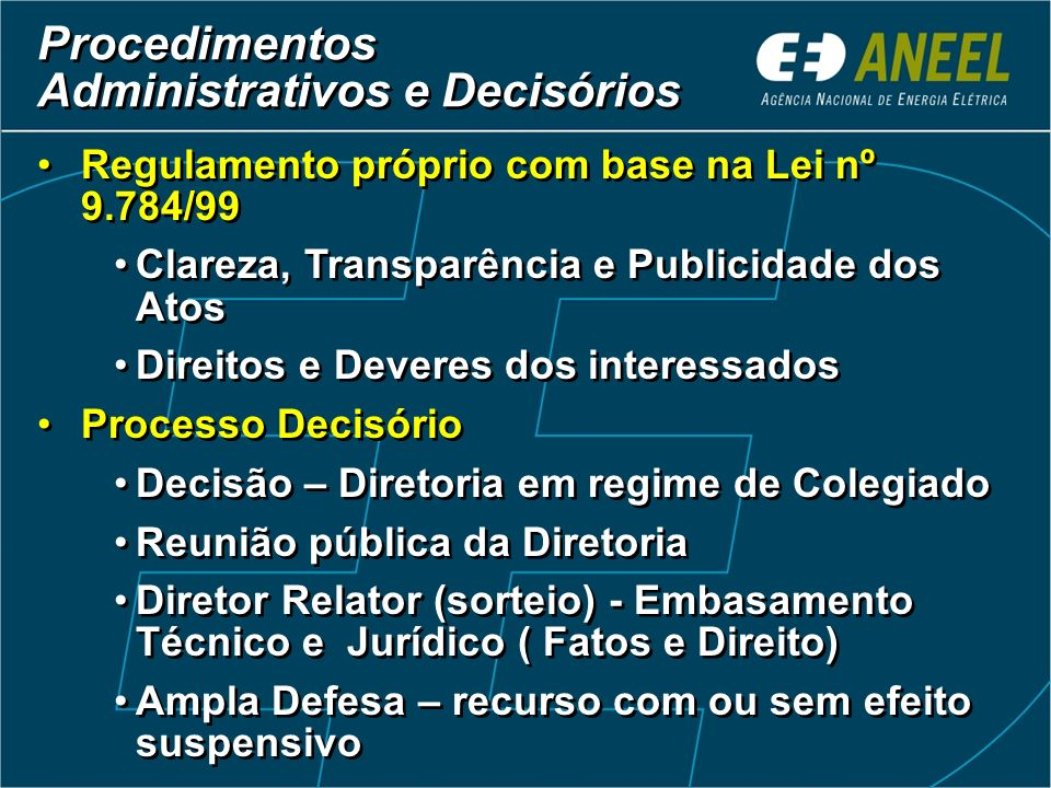 Administrativos e Decisórios
