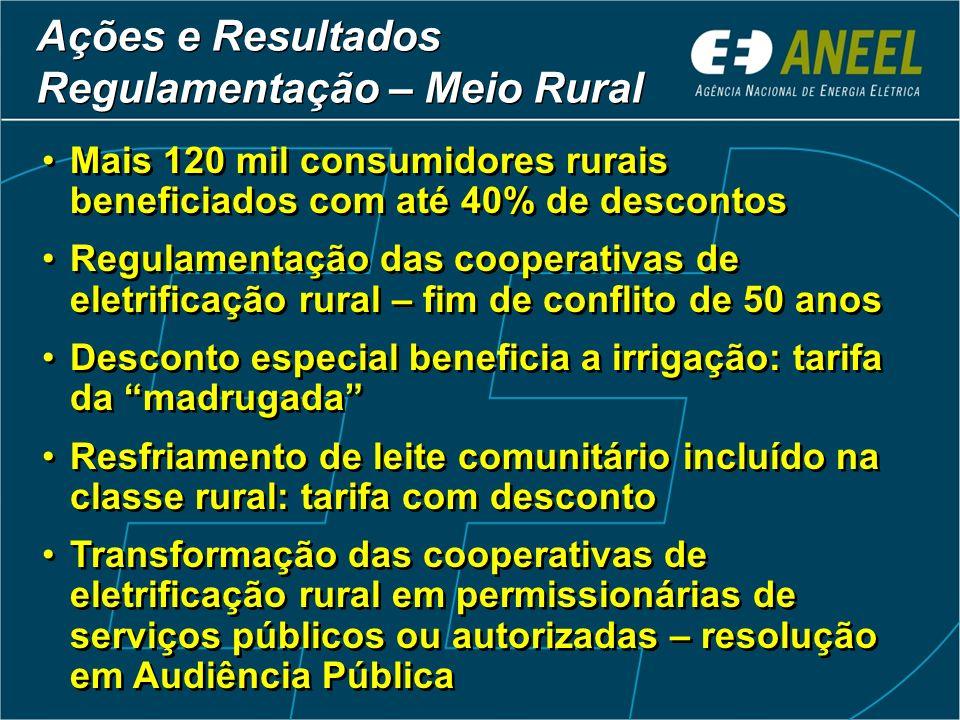 Regulamentação – Meio Rural