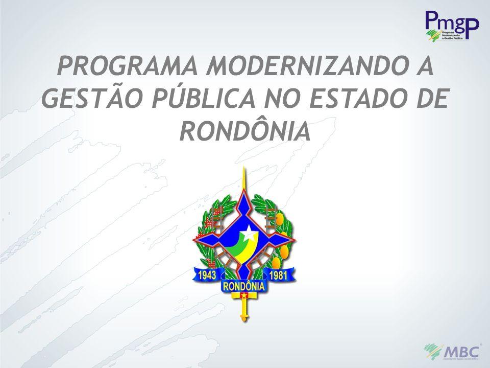PROGRAMA MODERNIZANDO A GESTÃO PÚBLICA NO ESTADO DE RONDÔNIA