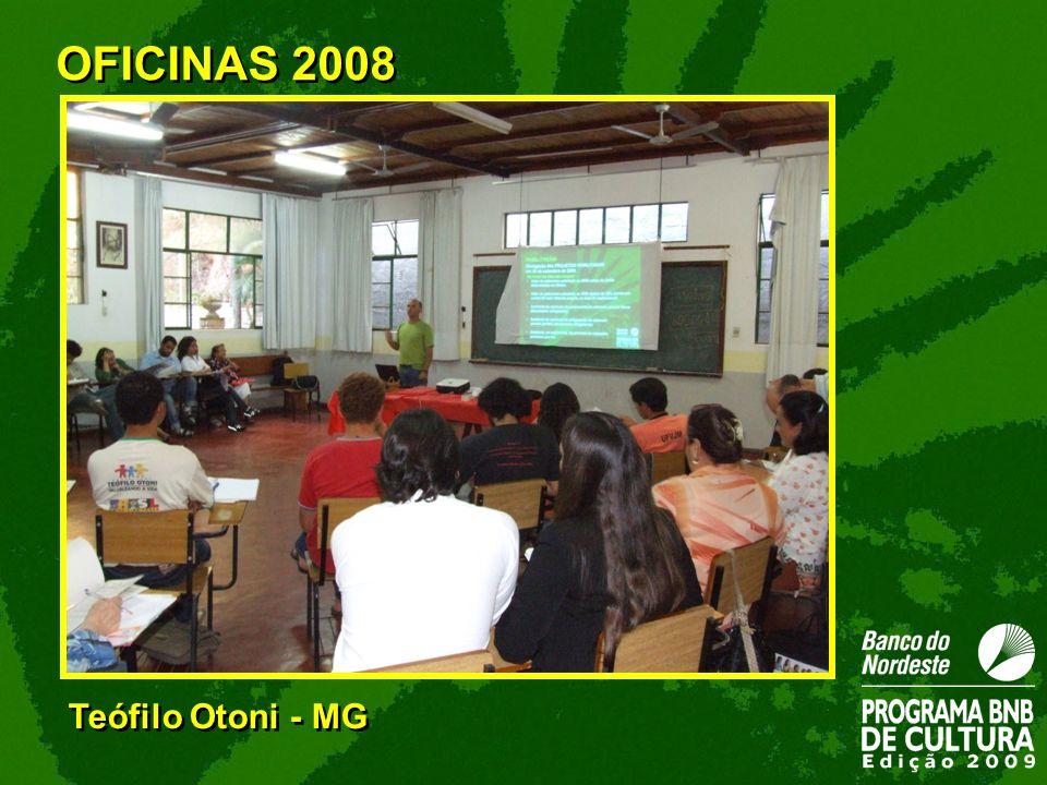 OFICINAS 2008 Teófilo Otoni - MG 30