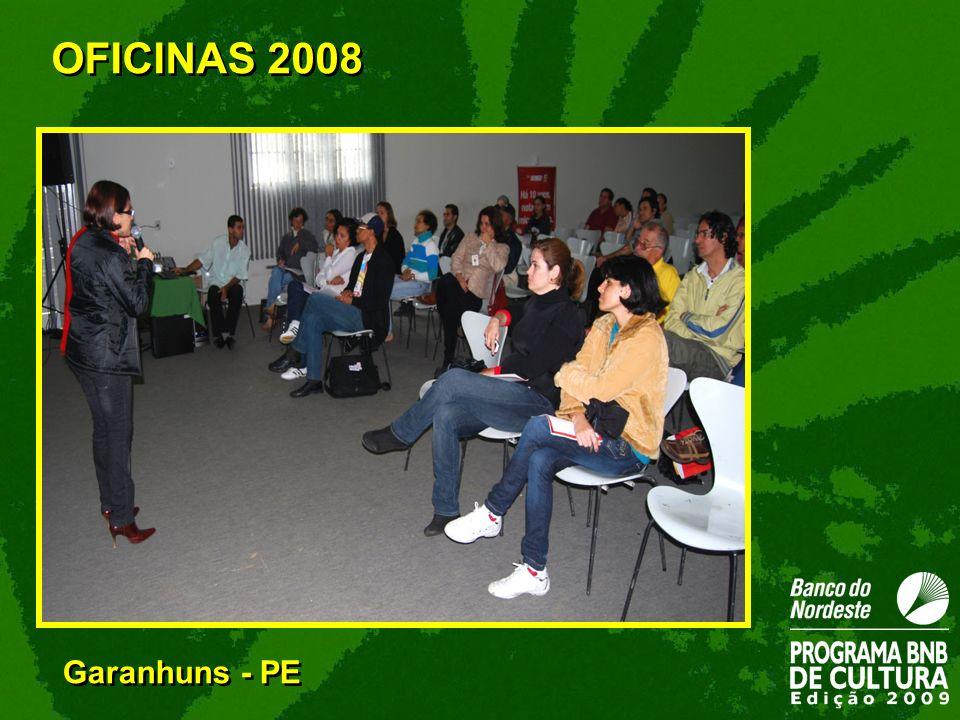 OFICINAS 2008 Garanhuns - PE 34
