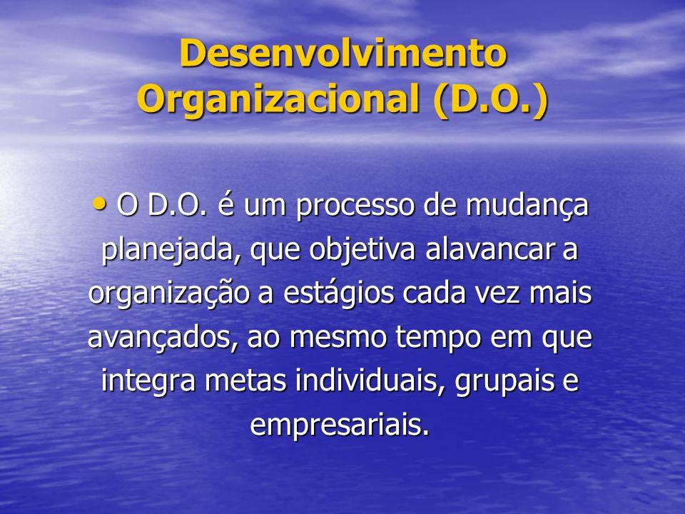 Desenvolvimento Organizacional (D.O.)