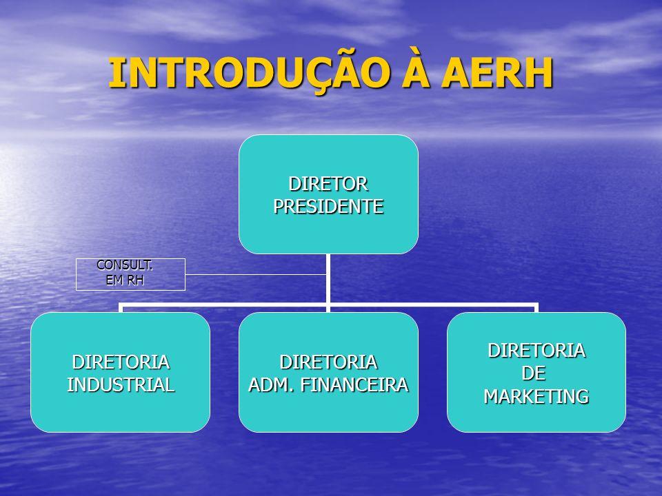 INTRODUÇÃO À AERH CONSULT. EM RH
