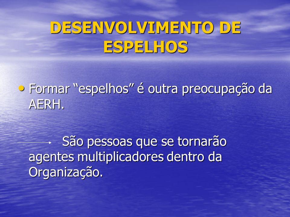 DESENVOLVIMENTO DE ESPELHOS