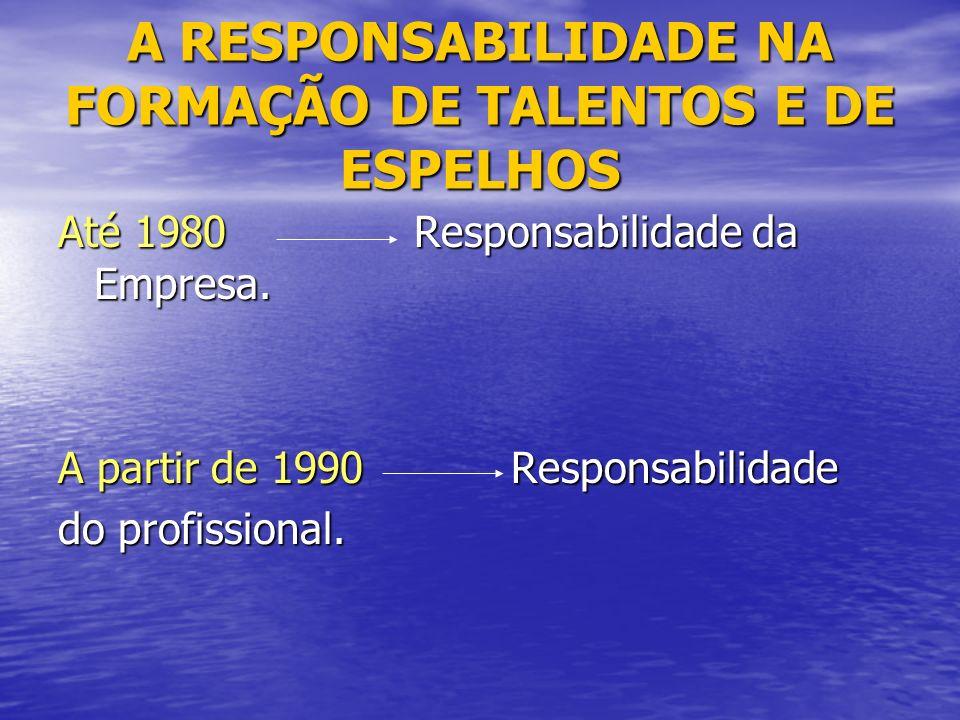 A RESPONSABILIDADE NA FORMAÇÃO DE TALENTOS E DE ESPELHOS
