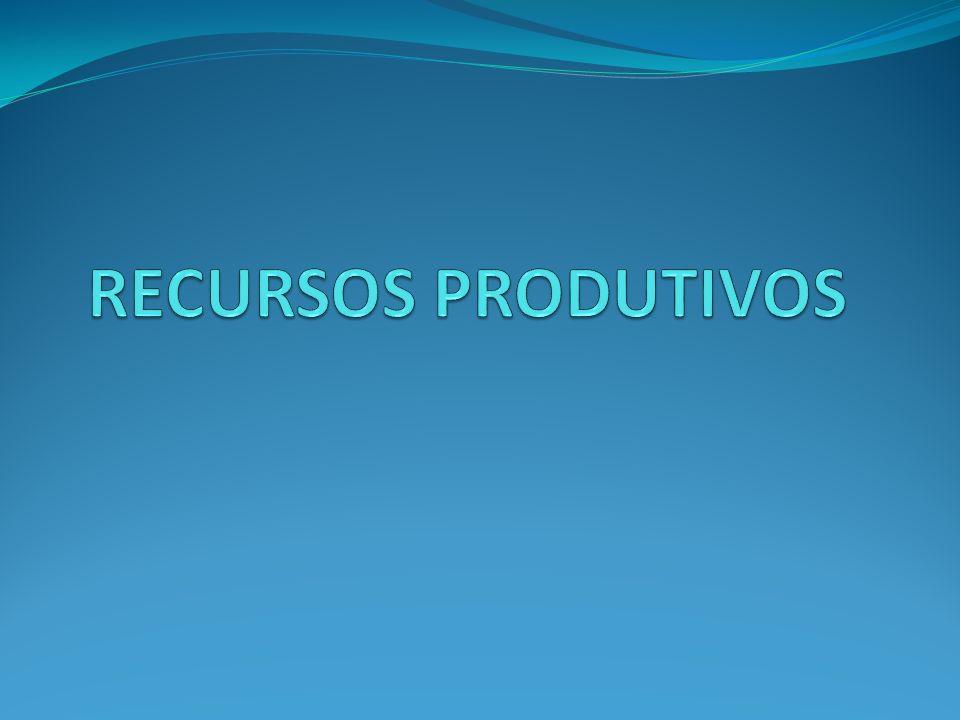 RECURSOS PRODUTIVOS