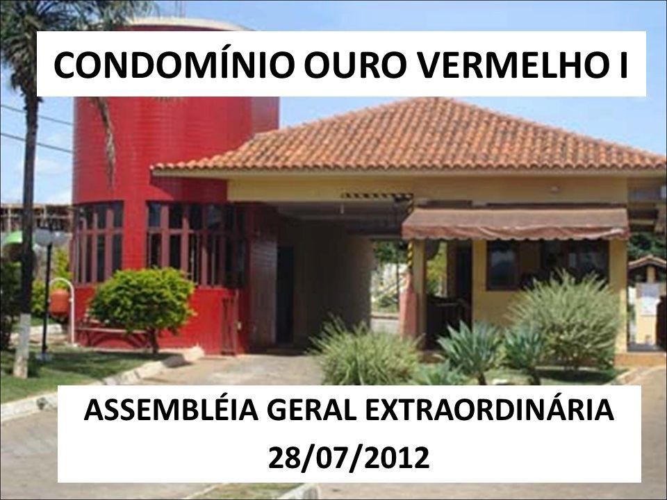 CONDOMÍNIO OURO VERMELHO I