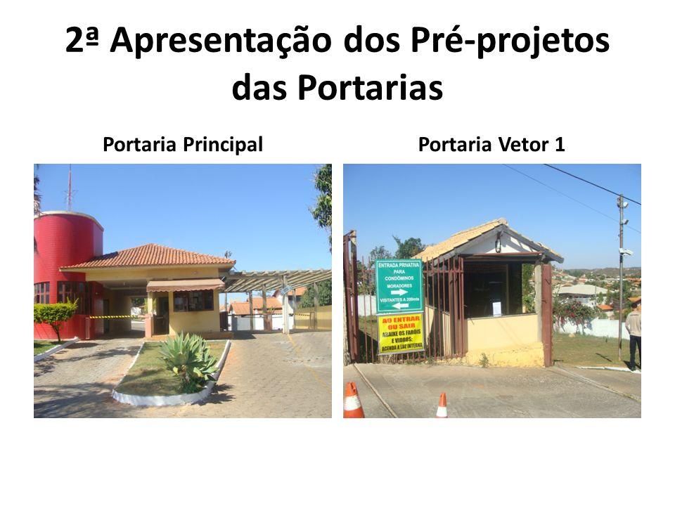 2ª Apresentação dos Pré-projetos das Portarias