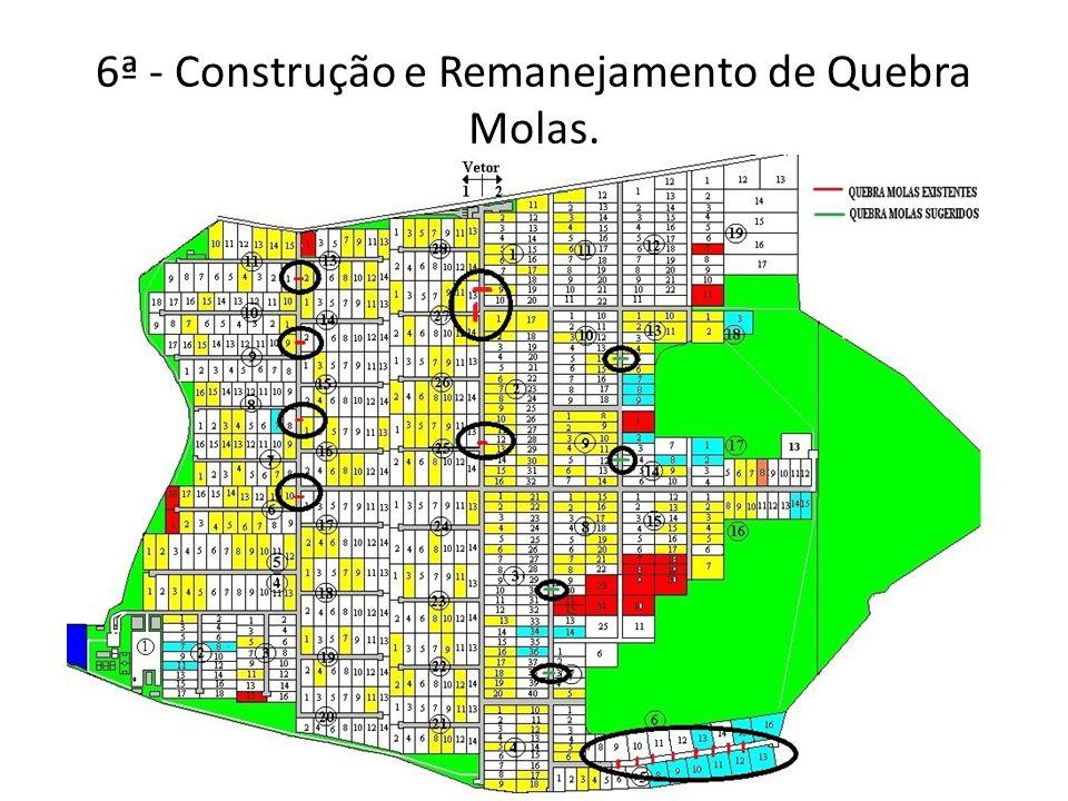 6ª - Construção e Remanejamento de Quebra Molas.