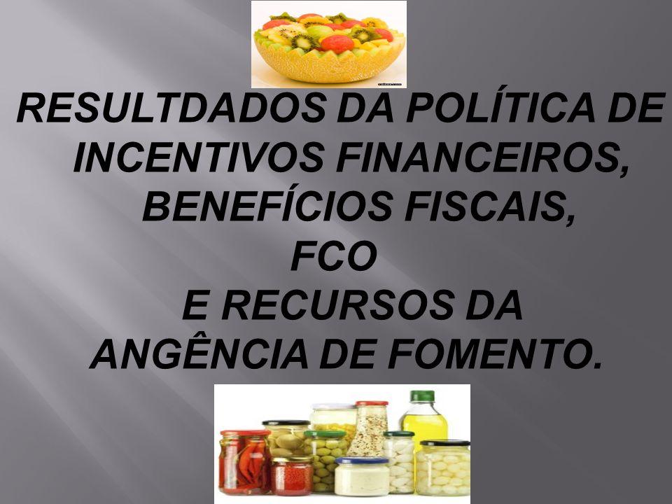 E RECURSOS DA ANGÊNCIA DE FOMENTO.